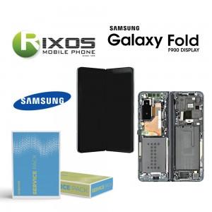 Samsung Galaxy Fold (SM-F900F) Lcd Display unit complete Metallic Green GH82-20132C