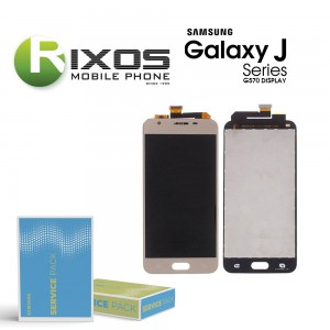 Samsung Galaxy J5 (SM-G570F) Display module LCD + Digitizer gold GH96-10459B
