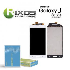 Samsung Galaxy On5 / J5 Prime (SM-G570F) Display module LCD + Digitizer white GH96-10325B