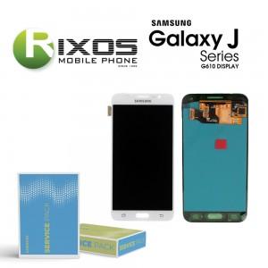 Samsung Galaxy On7 / J7 Prime (SM-G610F) Display module LCD + Digitizer white GH96-10446A