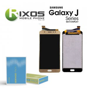 Samsung Galaxy J7 Max (SM-G610F) Display module LCD + Digitizer gold GH96-10965A