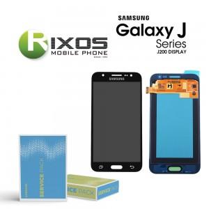 Samsung Galaxy J2 (SM-J200F) Display module LCD + Digitizer black GH97-17940C