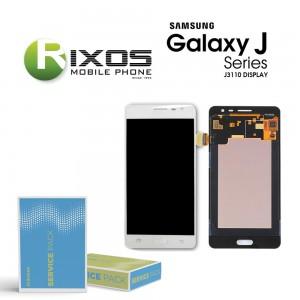 Samsung Galaxy J3 Pro (SM-J310F) Display module LCD + Digitizer white GH97-18977A