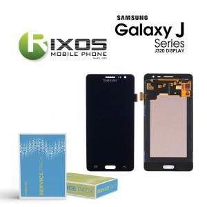 Samsung Galaxy J3 2016 (SM-J320F) Display module LCD + Digitizer black GH97-18414C