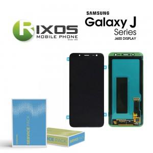 Samsung Galaxy J6 (SM-J600F) Display module LCD + Digitizer black GH97-21931A