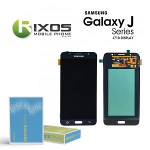 Samsung Galaxy J7 2016 (SM-J710F) Display module LCD + Digitizer black GH97-18931B