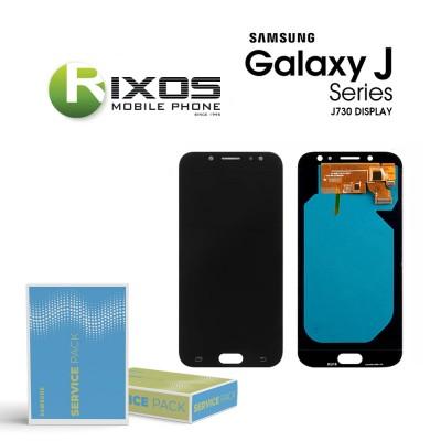 Samsung Galaxy J7 2017 (SM-J730F) Display module LCD + Digitizer black GH97-20736A