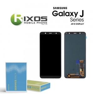 Samsung Galaxy J8 (SM-J810F) Display module LCD + Digitizer black GH97-22149A