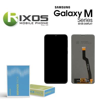 Samsung Galaxy M10 (SM-M105F) Display unit complete black NF GH82-18685B OR GH82-19366B