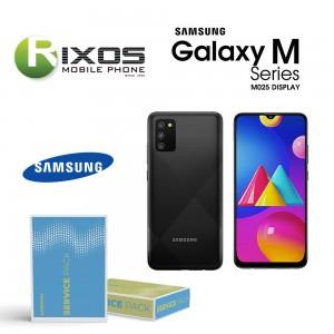 Samsung Galaxy M02s (SM-M025F) Lcd Display unit complete black