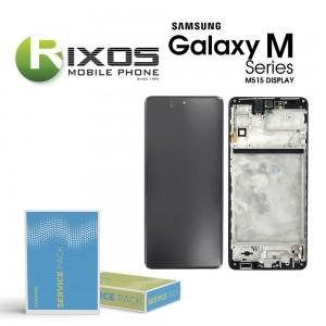 Samsung Galaxy M51 (SM-M515F) Lcd Display unit complete black GH82-24168A OR GH82-23568A OR GH82-24166A