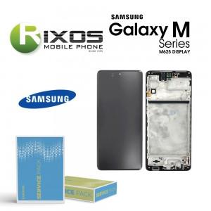 Samsung Galaxy M62 (SM-M525) Lcd Display unit complete black GH82-25478A