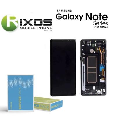 Samsung Galaxy Note 8 (SM-N950F) Display unit complete black GH97-21065A