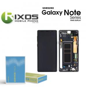 Samsung Galaxy Note 9 (SM-N960F) Display unit complete midnight black GH97-22269A