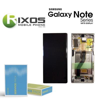 Samsung Galaxy Note 10 Plus (SM-N975F SM-N976B) Display unit complete aura black GH82-20838A