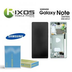 Samsung Galaxy Note 20 (SM-N980F SM-N981F) Lcd Display unit complete mystic green GH82-23495C OR GH82-23733C