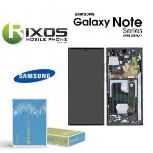 Samsung Galaxy Note 20 Ultra 5G (SM-N986F) Lcd Display unit complete mystic black GH82-23596A OR GH82-23597A