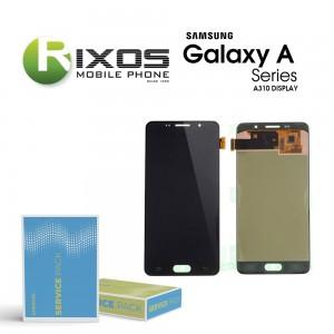 Samsung Galaxy A3 2016 (SM-A310F) Display module LCD + Digitizer black GH97-18249B