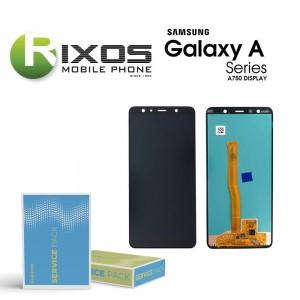 Samsung Galaxy A7 2018 (SM-A750F) Display module LCD + Digitizer black GH96-12078A