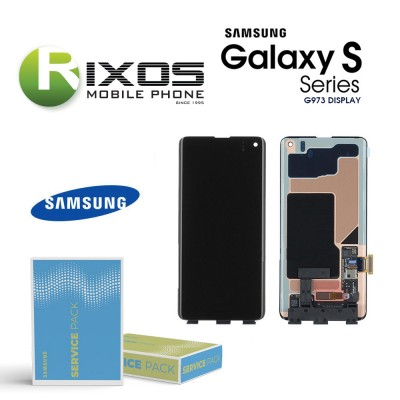 Samsung Galaxy S10 (SM-G973F 2019 ) Lcd Display unit complete no frame GH96-12255A