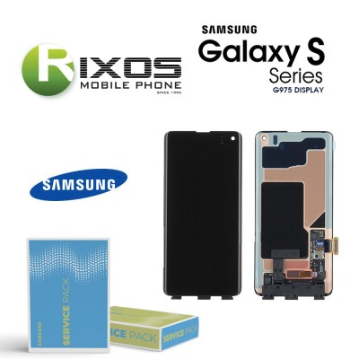 Samsung Galaxy S10 Plus (SM-G975F 2019 ) Lcd Display unit complete no frame GH96-12256A