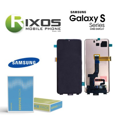 Samsung Galaxy S20 (SM-G980 / G981 2020 ) Lcd Display unit complete no frame GH96-13024A