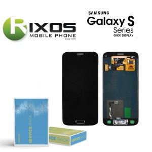 Samsung Galaxy S5 Mini (SM-G800F) Display module LCD + Digitizer black GH97-16147A
