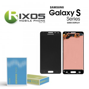 Samsung Galaxy Alpha (G850F) Display unit complete black GH97-16386A