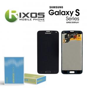 Samsung Galaxy S5 (SM-G900F) Display module LCD + Digitizer black GH97-15959B
