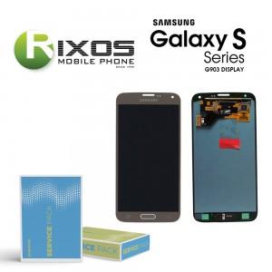 Samsung Galaxy S5 Neo (SM-G903F) Display module LCD + Digitizer gold GH97-17787B