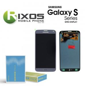 Samsung Galaxy S5 Neo (SM-G903F) Display module LCD + Digitizer silver GH97-17787C