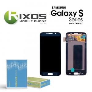 Samsung Galaxy S6 (SM-G920F) Display module LCD + Digitizer black GH97-17260A