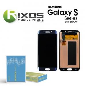 Samsung Galaxy S6 Edge (SM-G925F) Display unit complete black GH97-17162A