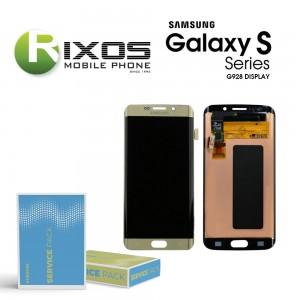 Samsung Galaxy S6 Edge+ (SM-G928F) Display unit complete gold GH97-17819A