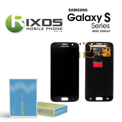 Samsung Galaxy S7 (SM-G930F) Display module LCD + Digitizer black GH97-18523A