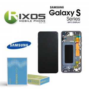 Samsung Galaxy S10 (SM-G973F) Lcd Display unit complete prism pink GH82-18850D OR GH82-18835D