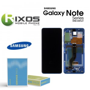 Samsung Galaxy S20 Plus (SM-G985F) Lcd Display unit complete aura blue GH82-22134H OR GH82-22145H