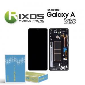 Samsung Galaxy A01 (SM-A013F) Display unit complete  black GH82-23392A