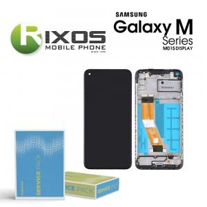 Samsung Galaxy M01 (SM-M015F) Display unit complete black GH81-19017A