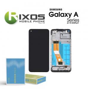 Samsung Galaxy A11 (SM-A115F) Display unit complete black GH81-18760A