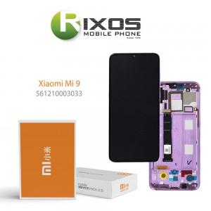 Xiaomi Mi 9 (M1902F1G) Display unit complete lavender violet (Service Pack) 561210003033