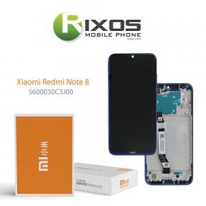 Xiaomi Redmi Note 8 (M1908C3JG) Display unit complete neptune blue 5600030C3J00