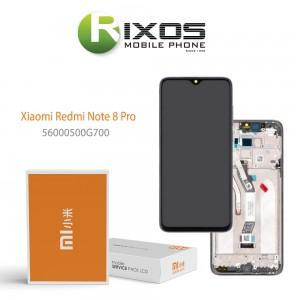 Xiaomi Redmi Note 8 Pro (M1906G7I M1906G7G) Display unit complete black 56000500G700