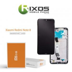 Xiaomi Redmi 8 Display unit complete black (Service Pack) 5600040C3I00