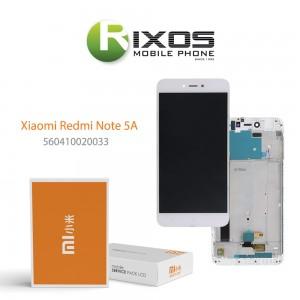Xiaomi Redmi Note 5A Display unit complete white (Service Pack) 560410006033