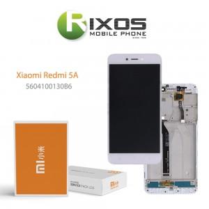 Xiaomi Redmi 5A Display unit complete (Service Pack) white 5604100130B6