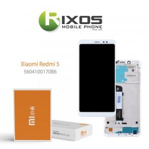 Xiaomi Redmi 5 Display unit complete white (Service Pack) 5604100170B6