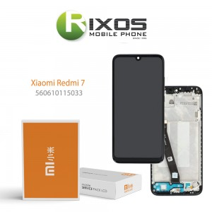 Xiaomi Redmi 7 Display unit complete black (Service Pack) 560610115033