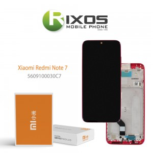 Xiaomi Redmi Note 7 Display unit complete twilight gold (Service Pack) 5609100030C7