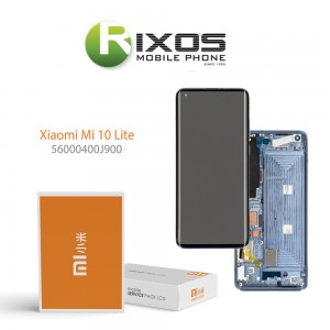 Xiaomi Mi 10 Lite 5G (M2002J9G) Display unit complete cosmic grey 56000400J900